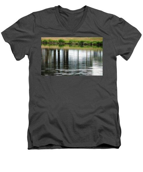 Park Reflections Men's V-Neck T-Shirt