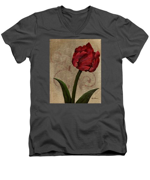 Parrot Tulip II Men's V-Neck T-Shirt