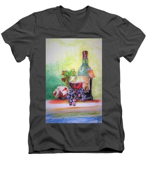 Party Arrangement Men's V-Neck T-Shirt