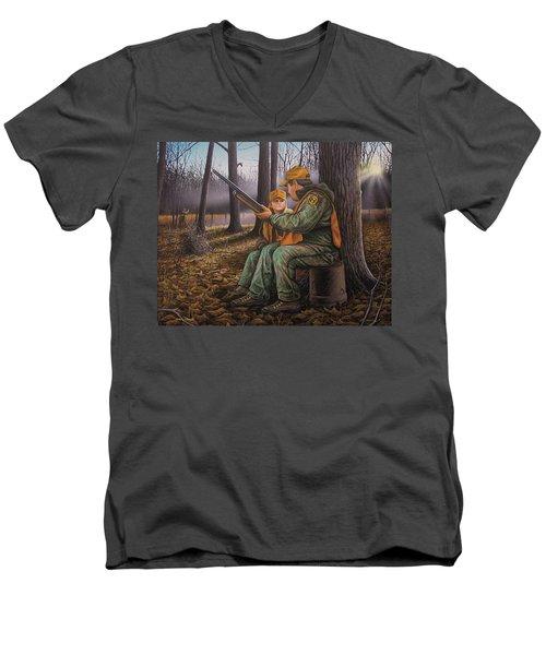 Pass It On - Hunting Men's V-Neck T-Shirt
