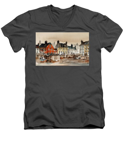 Passage East Harbour, Waterford Men's V-Neck T-Shirt