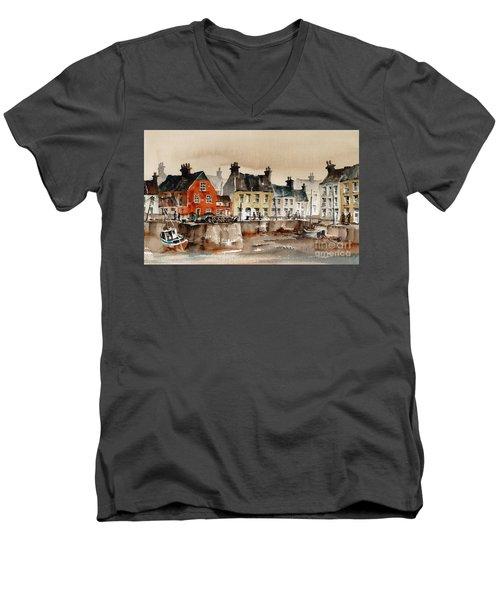 Passage East Harbour, Waterford Men's V-Neck T-Shirt