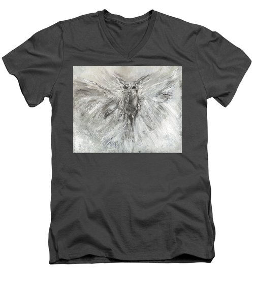 Passage Of Spirit -  The Guardian  Men's V-Neck T-Shirt