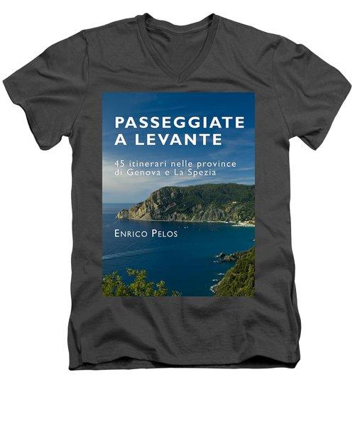 Passeggiate A Levante - The Book By Enrico Pelos Men's V-Neck T-Shirt