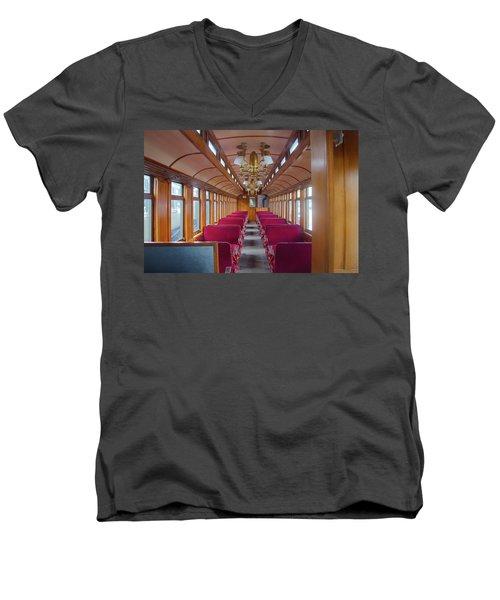 Passenger Travel Men's V-Neck T-Shirt