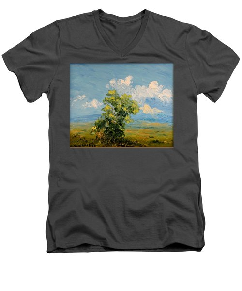 Passing Clouds Men's V-Neck T-Shirt