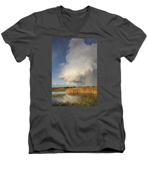 Passing Late Afternoon Rain Shower Men's V-Neck T-Shirt