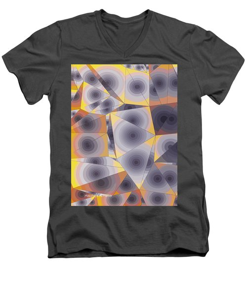 Passionflowers Men's V-Neck T-Shirt