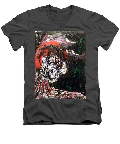 Past Demons Men's V-Neck T-Shirt