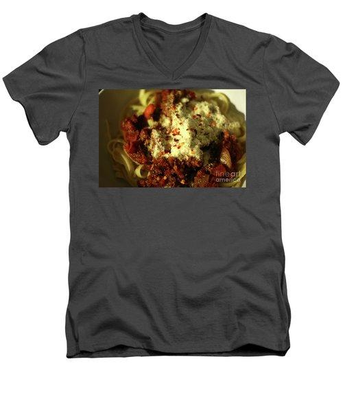 Pasta Men's V-Neck T-Shirt