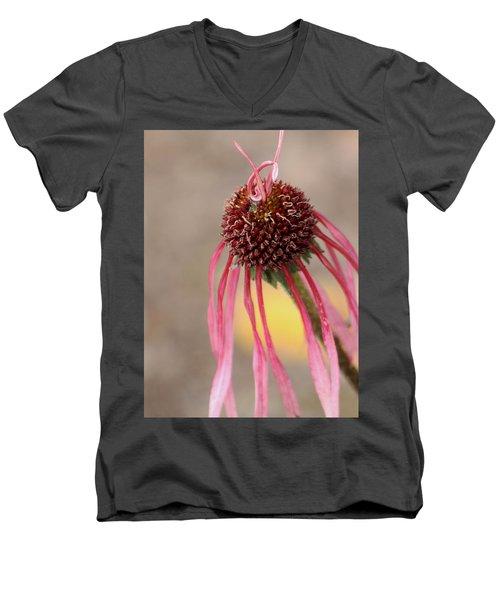 Men's V-Neck T-Shirt featuring the photograph Pastel Perfection by Deborah  Crew-Johnson