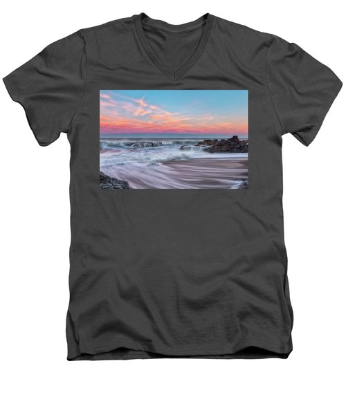 Pastel Sunrise Men's V-Neck T-Shirt
