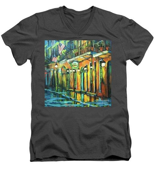 Pat O Briens Men's V-Neck T-Shirt
