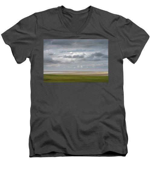 Patch Of Blue Men's V-Neck T-Shirt