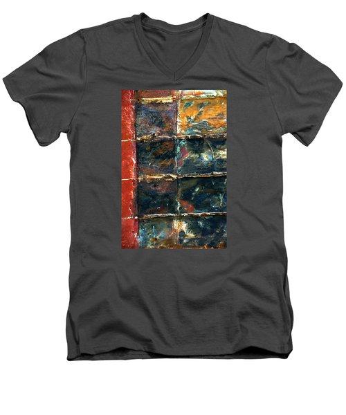 Patchworks 4 Men's V-Neck T-Shirt