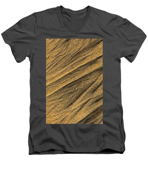 Paterns In The Sand Men's V-Neck T-Shirt