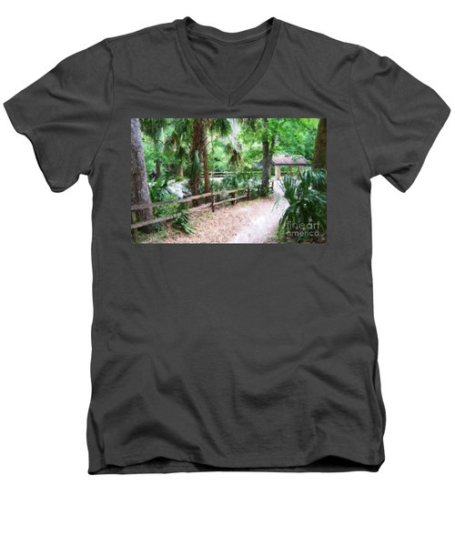 Path To Shade Men's V-Neck T-Shirt