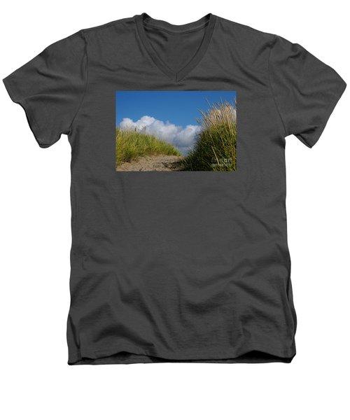 Path To The Beach Men's V-Neck T-Shirt