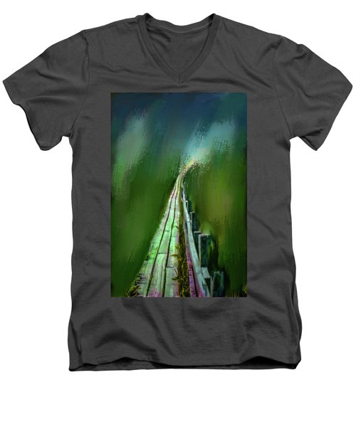 Path To The Unknown #h5 Men's V-Neck T-Shirt