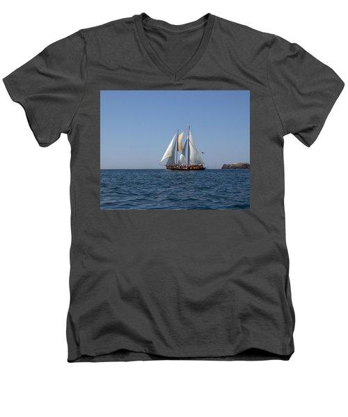 Patricia Belle 02 Men's V-Neck T-Shirt by Jim Walls PhotoArtist