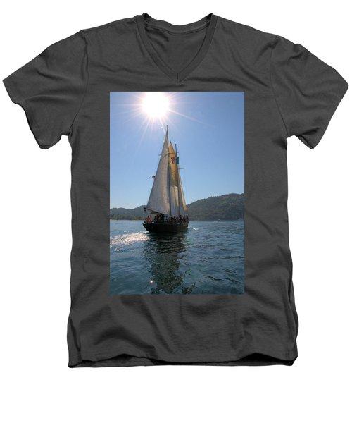 Patricia Belle 03 Men's V-Neck T-Shirt