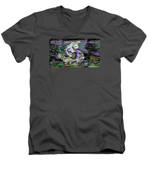 Pattern 301 _ Remarkable Moment Men's V-Neck T-Shirt