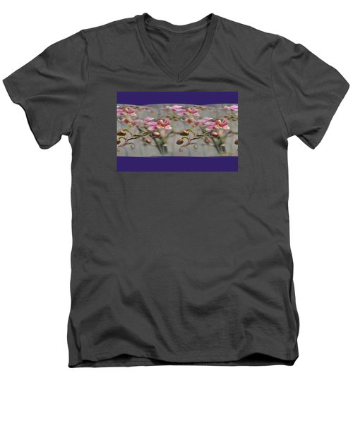 Pattern 320 _ Memory Men's V-Neck T-Shirt