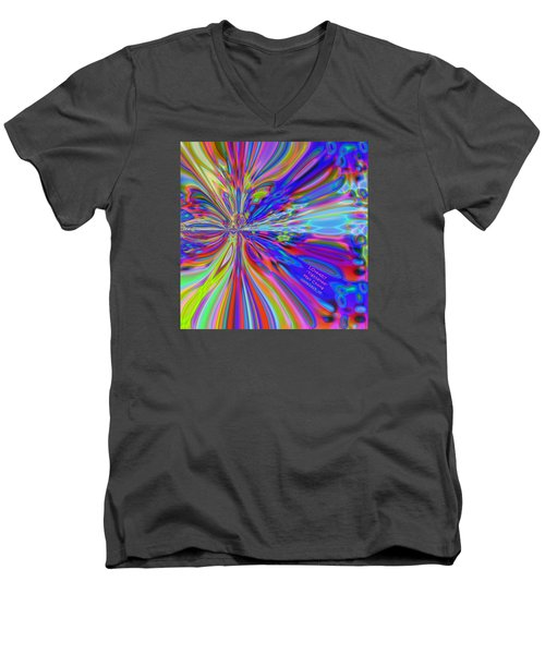Pattern 328 _ Tightened Men's V-Neck T-Shirt