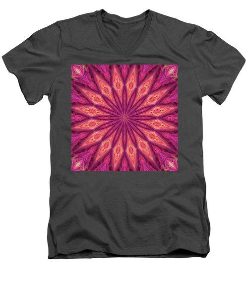 Pattern I Men's V-Neck T-Shirt