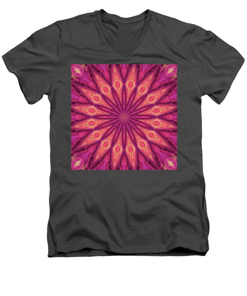 Pattern I Men's V-Neck T-Shirt