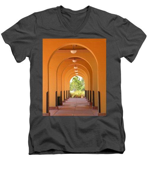 Patterns Men's V-Neck T-Shirt