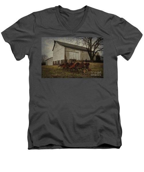 Patterson Farm  Men's V-Neck T-Shirt