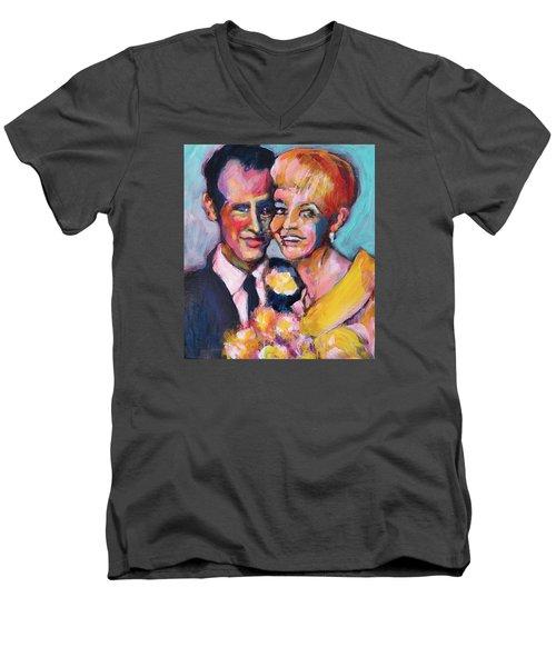Paul And Joanne Men's V-Neck T-Shirt