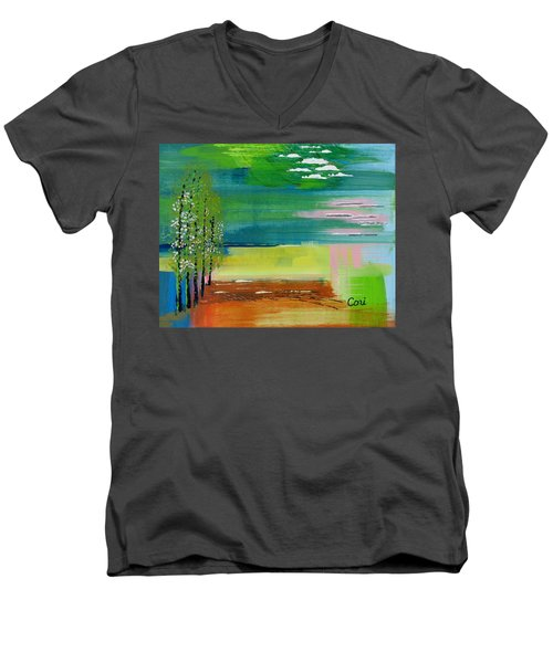 Pause Men's V-Neck T-Shirt