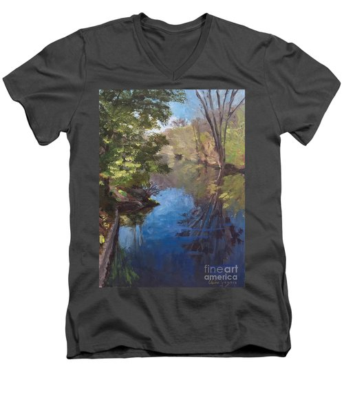 Pawtucket Canal Men's V-Neck T-Shirt