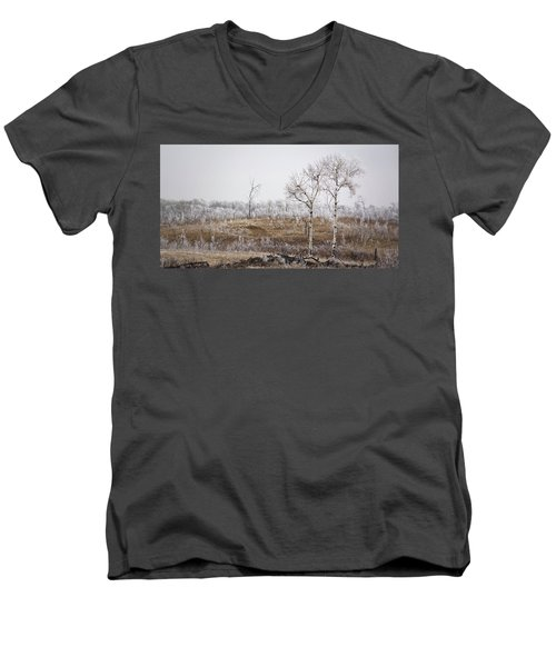 Paynton Pastures Men's V-Neck T-Shirt by Ellery Russell