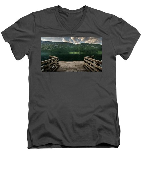 Peace And Clarity Men's V-Neck T-Shirt