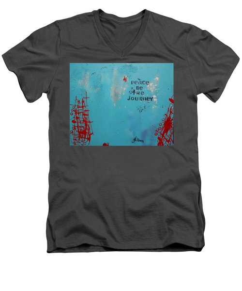 Peace Be The Journey Men's V-Neck T-Shirt