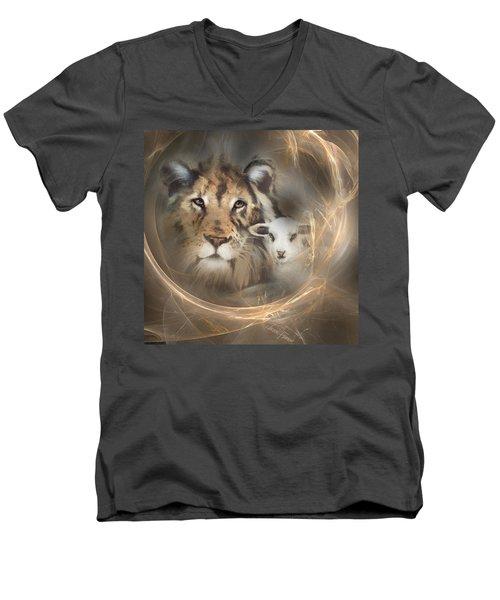 Peace On Earth Men's V-Neck T-Shirt