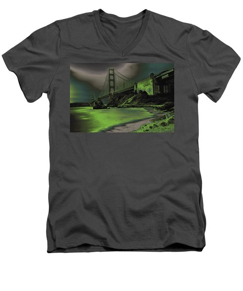 Peaceful Eerie Feeling Men's V-Neck T-Shirt
