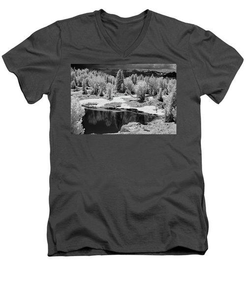 Peaceful Ir Men's V-Neck T-Shirt