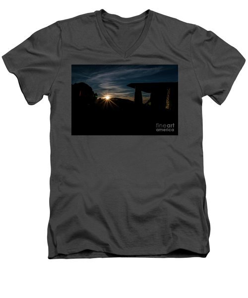 Peaceful Moment II Men's V-Neck T-Shirt by Deborah Klubertanz