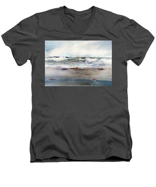 Peaceful Surf Men's V-Neck T-Shirt