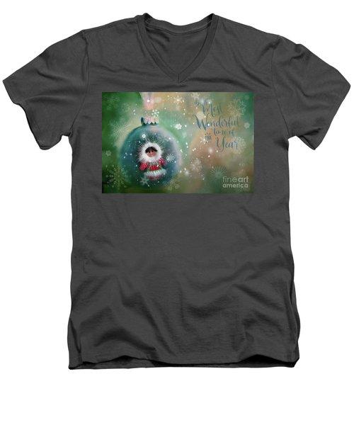 Peace,love,joy Men's V-Neck T-Shirt