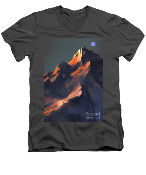 Peak Men's V-Neck T-Shirt