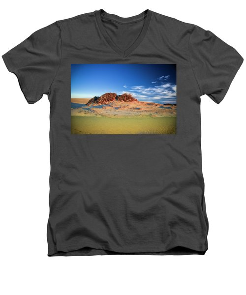 Peaks Of Jockey's Ridge Men's V-Neck T-Shirt