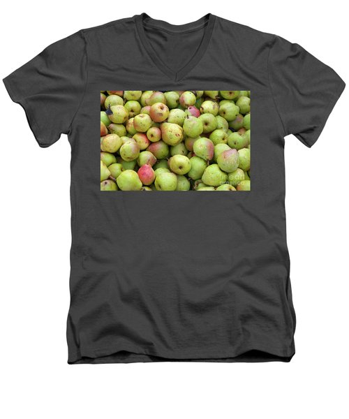 Pear Harvest Men's V-Neck T-Shirt