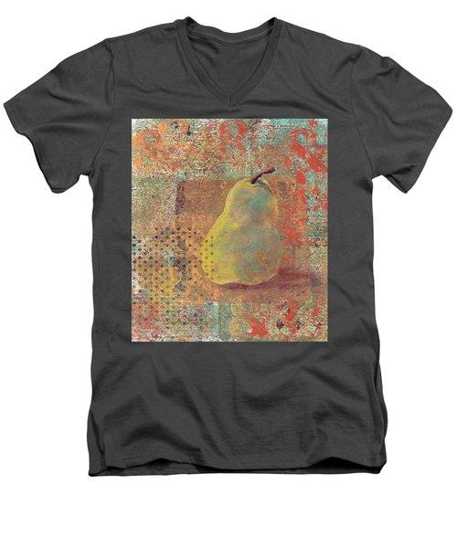 Pear Men's V-Neck T-Shirt