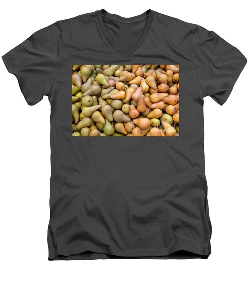 Pears At The Harvest Men's V-Neck T-Shirt