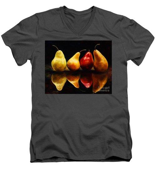 Pearsfect Men's V-Neck T-Shirt